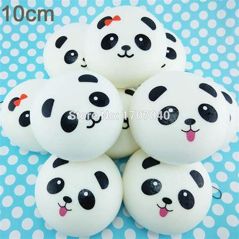 Promo Sale Squishy Sumo Panda aliexpress buy 10cm jumbo panda squishy collectibles kawaii buns bread pendant food