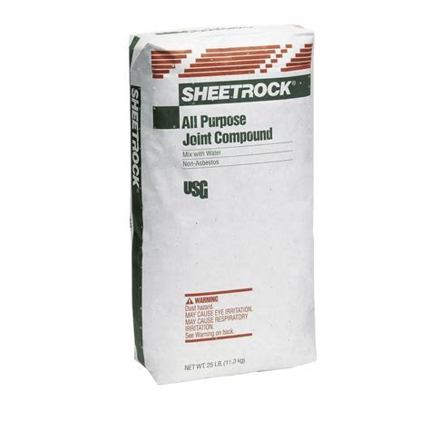 sheetrock 25 lb all purpose joint compound 383700120