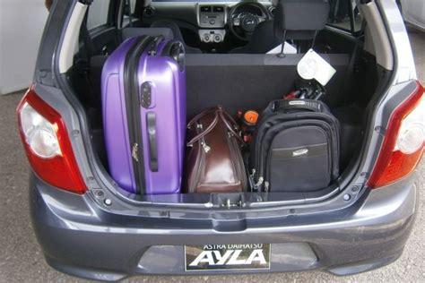 Lu Mobil Ayla Ruang Kabin Astra Daihatsu Ayla Lumayan Okezone News