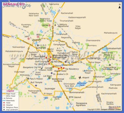bangalore city map images bangalore map toursmaps