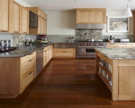 light wood floors and kitchen cabinets paint colors with