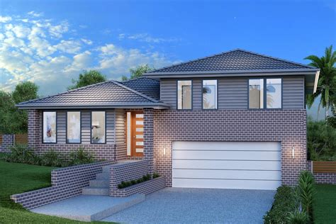 Regatta 264 Split Level, Home Designs in New South Wales G.J. Gardner Homes