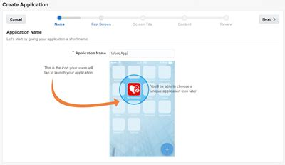 create mobile applications creating your mobile application