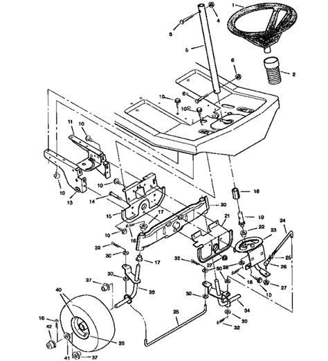 craftsman lt1000 wiring schematics craftsman lawn mower