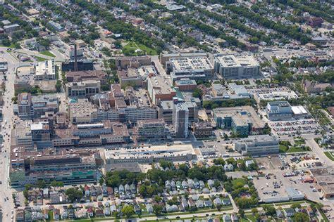 Health Science Center Winnipeg Detox by Aerial Photo Health Sciences Centre Winnipeg