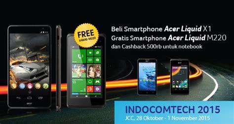 Harga Acer Liquid X1 gratis smartphone setiap pembelian acer liquid x1 di