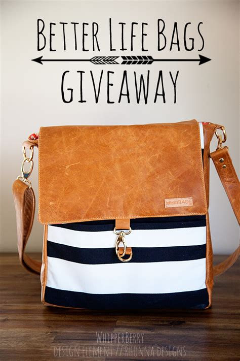 Bag Giveaway - better life bags giveaway whipperberry
