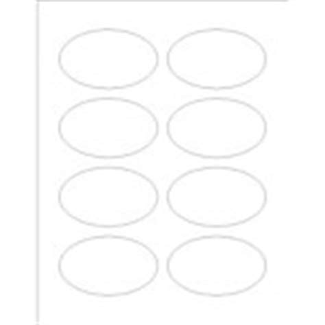 Avery Oval Labels 22829 Template Templates Print To The Edge Oval Labels 8 Per Sheet Avery