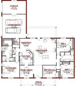 ranch style floor plan i m thinking this is a pretty great looking ranch style