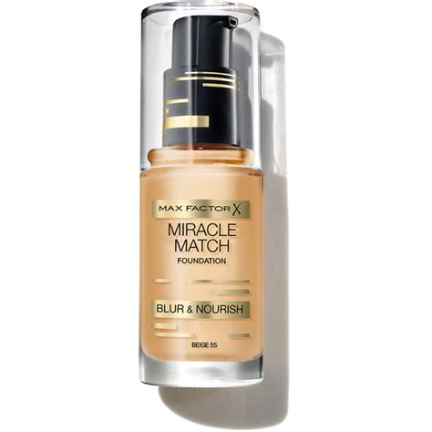 Foundation Max Factor max factor miracle match foundation various shades