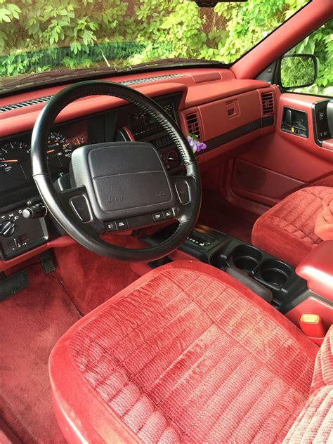 jeep grand cherokee red interior jeep grand cherokee zj wiki everipedia