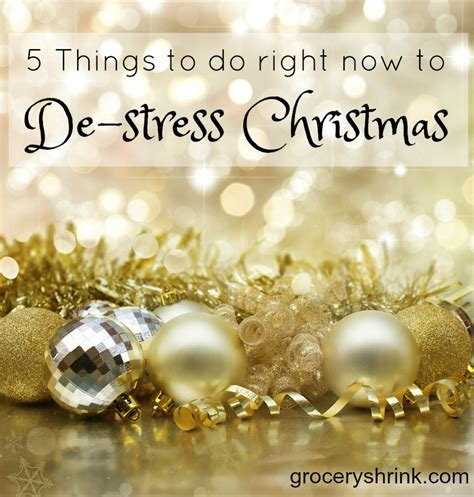 5 Things To Do Today by 5 Things To Do Right Now To Destress Grocery