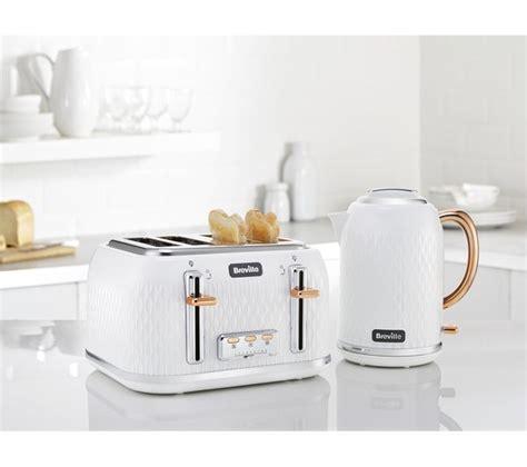 rose gold kitchen appliances buy breville curve vkt018 jug kettle white rose gold