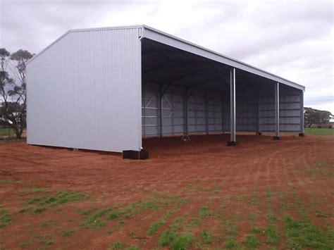 Farm Storage Sheds by Farm Sheds Wa Hay Machinery Storage Sheds Aussie Sheds