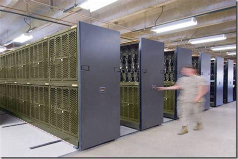 weapons racks armory universal weapon rack spacesaver