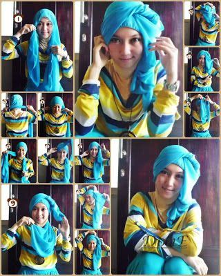 tutorial jilbab turban 9 best images about tutorial hijab on pinterest green