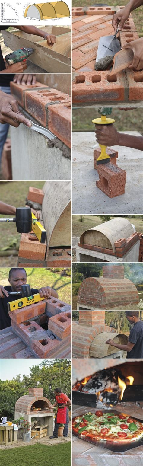 how to build a pizza oven in your backyard how to build your own pizza oven architecture design