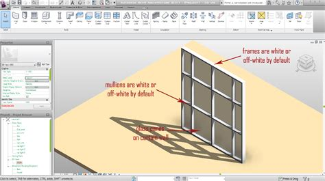 curtain wall mullion revit how to change the colour of your curtain wall mullion
