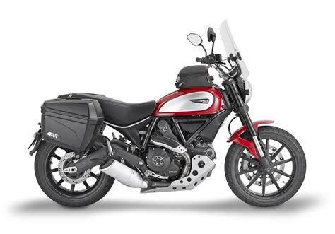 Ducati Motorrad Scrambler by Givi Zubeh 246 R F 252 R Ducati Scrambler 800 2016 Motorrad Fotos