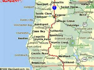 map of oregon california coast realty maps