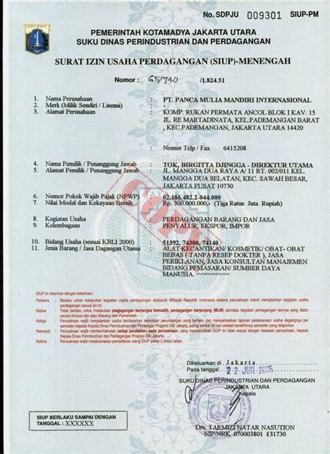 welcome to my contoh dokumen legalitas perizinan usaha