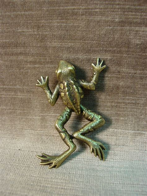 bronze brooch pins ebay quot jj quot jonette jewelry bronze pewter leaping frog pin legs move ebay