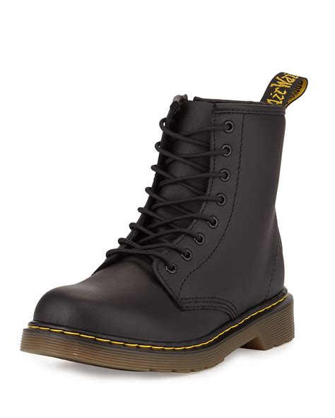 matte black boots dr martens delaney matte leather boots in black