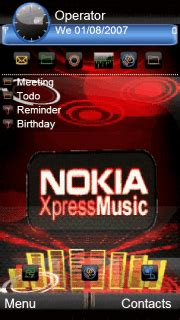 download themes xpressmusic download animated xpressmusic 3d nokia theme nokia theme