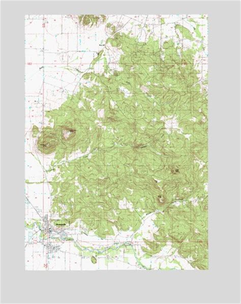 brownsville oregon map brownsville or topographic map topoquest