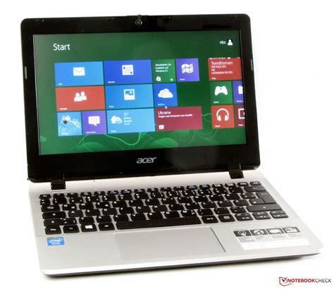 Laptop Acer Acer Aspire E3 111 28lk acer aspire e3 111 c6lg notebook review notebookcheck net reviews