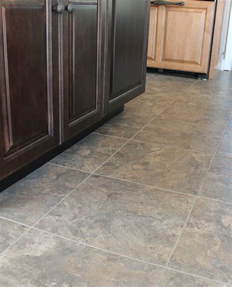 chocolate brown floor l vinyl tiles for kitchen full image for black and white