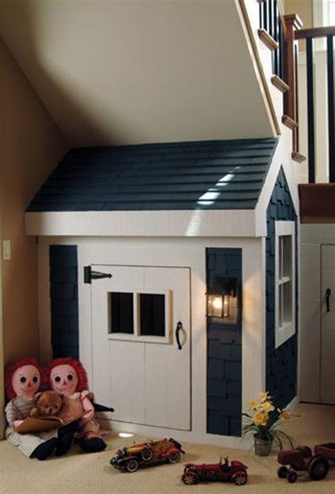 amazing kids playhouses   stairs home design