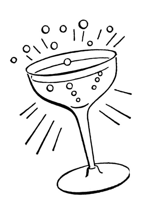 retro cocktail clipart retro line drawings cocktail glass cocktail glass