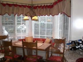 Kitchen Bay Window Treatment Ideas by Miscellaneous Window Treatment Ideas For Kitchen Bay