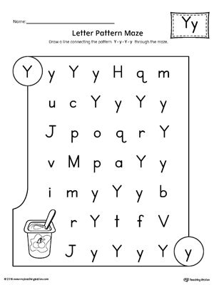 pattern recognition dyslexia all about letter y printable worksheet myteachingstation com