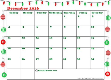 free printable 2016 holiday planner printable calendar 2018 december 2016 christmas calendar