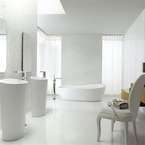 bathroom ideas without tiles mini tiles and relief new trends in coatings
