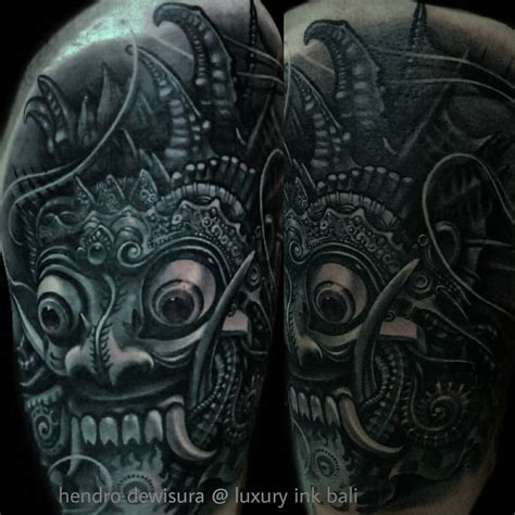 uv tattoo bali barong tattoos designs history meaning tattlas bali