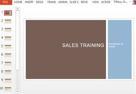 sales presentation template free business sales template for powerpoint