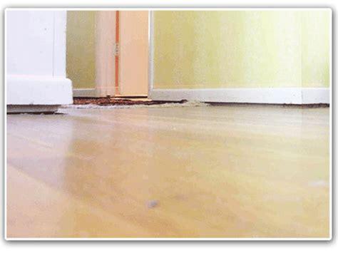 1 Drywall Floor Gap - floor and wall gaps cracks separation foundation repair