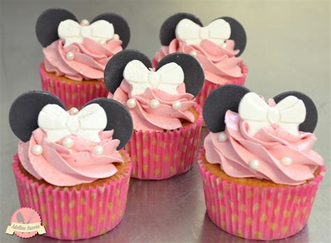 Minnie Mouse Diy Decorations Cupcake Minnie Rose Cakedesignfactory