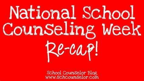 school counselor week school counselor national school counseling week