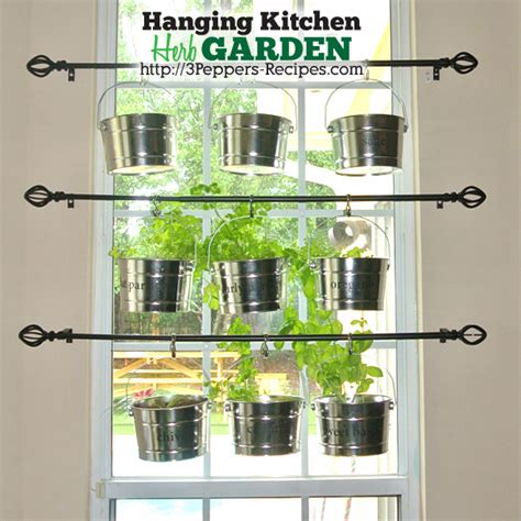 kitchen window herb garden hanging kitchen herb garden