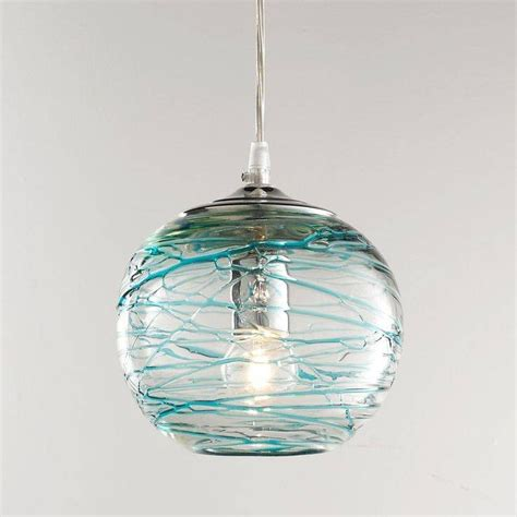 blue glass pendant light 15 photo of turquoise blue glass pendant lights