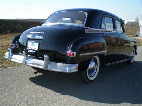 1952 plymouth models 1952 plymouth cambridge oldtimer car photo and specs