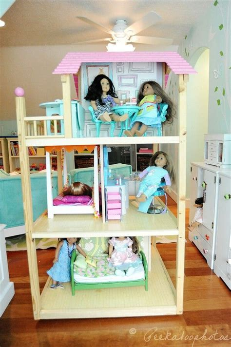american dolls houses american girl doll house ag 18 inch doll house furniture decor