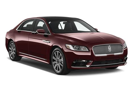 Lincoln Continental New by New 2017 Lincoln Continental Reserve Sedan Angular Front