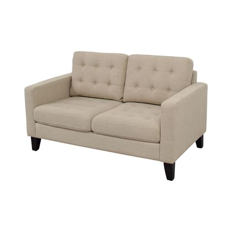 pier 1 loveseat 65 off pier 1 imports pier 1 imports nyle putty tufted