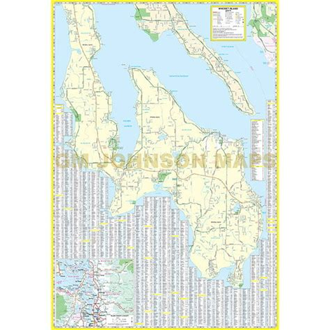 map of whidbey island whidbey island washington map gm johnson maps