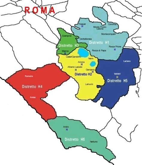 asl via della consolata roma asl roma 6 distretti